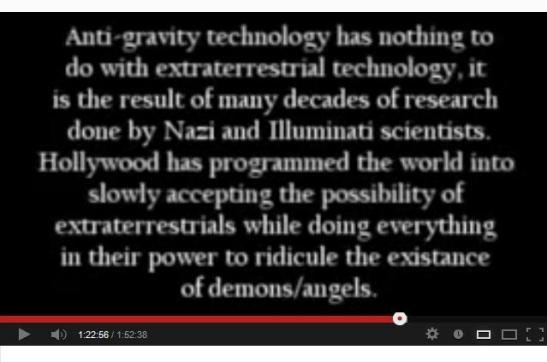 Alien Demon Illuminati