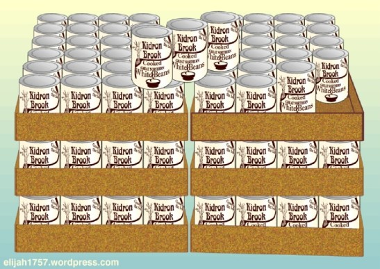 144 cans of beans
