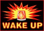 wake up siren