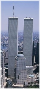 WTC 1 and 2 Vertical