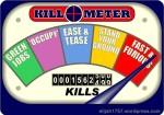 Kill-O-Meter Dial Count