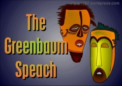 The Greenbaum Speach