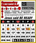 9/11/13 Calendar