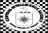 CIA Logo on Checkered Floor