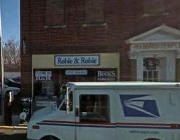 Robie & Robie (R&R) book store.