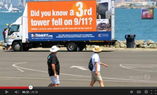 Rethink 911 3rd Tower Van