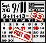 9/11 Past Due