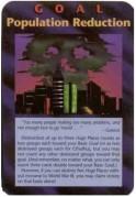 Illuminati Population Reduction Game Card