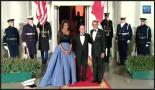 King and Queen Obama