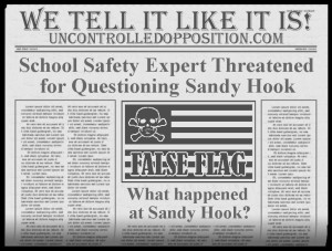 Official Threatened for Sandy Hook