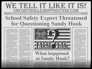 Sandy Hook Threat to Official