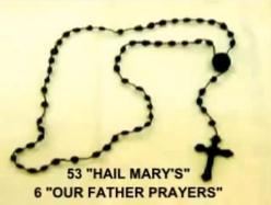 53 Hail Marys Rosary
