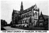 Haarlem-Great-Church-Holland