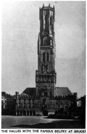 Halles-Cathedral-Belfry-at-Bruges