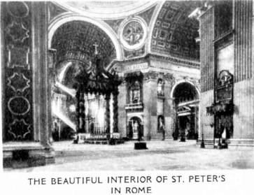 StPeters-Basilica-Interior