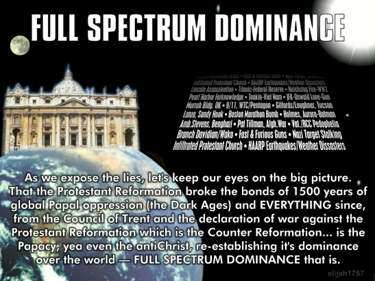 Full Spectrum Dominance Papal antiChrist