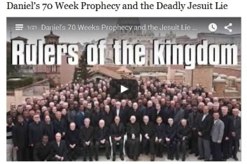 Daniel's 70 Weeks Prophecy and the Jesuit Lie of Futurism