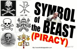 symbol of the beast is piracy