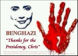 Hillary thanks Chris Stephens for presidency