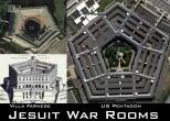 Jesuit War Rooms - Villa Farnese and US Pentagon