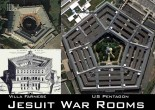 Jesuit War Rooms - Villa Farnese and US Pentagon