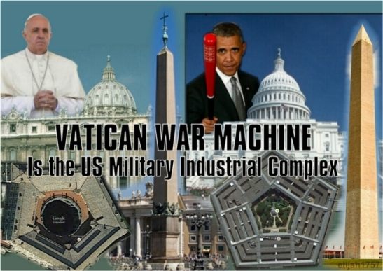 Vatican USA War Machine