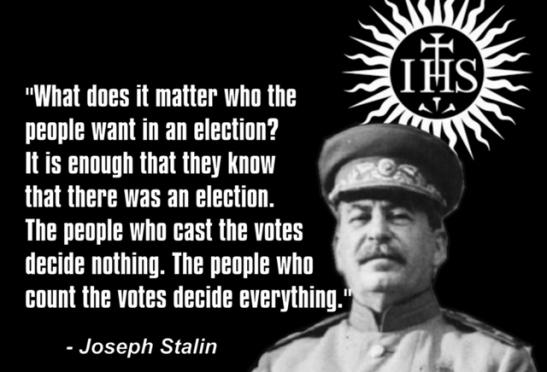 Jesuit Joseph Stalin