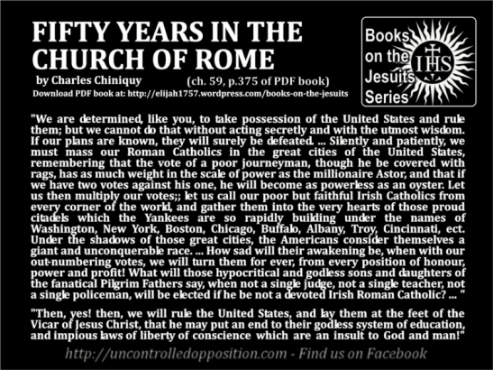 Fifty Years in the Church of Rome - Jesuit Books