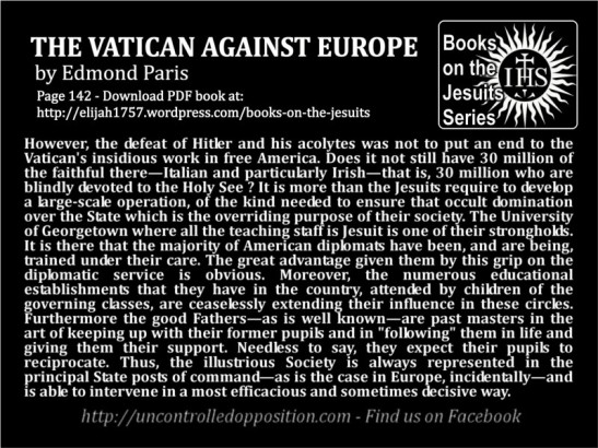 The Vatican Against Europe by Edmond Paris, Page 142