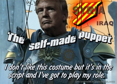 Trump the self-made puppet