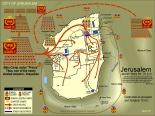 Jerusalem surrounded by Roman armies